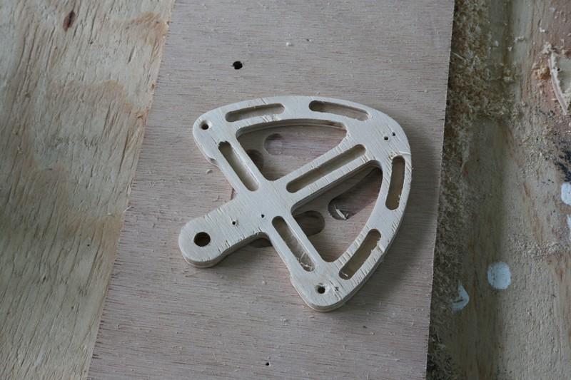 Fraisage de l'aluminium à la défonceuse. 23_jan10