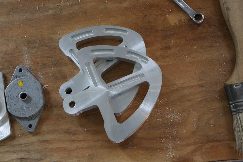 Fraisage de l'aluminium à la défonceuse. 23_jan13