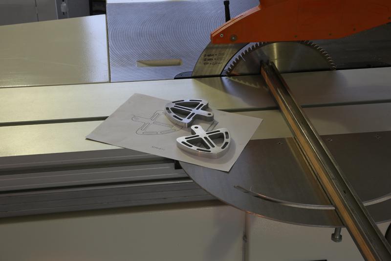 Fraisage de l'aluminium à la défonceuse. 23_jan18
