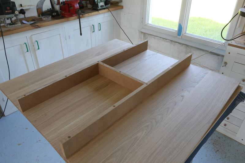 "[Fabrication] Table de salon ""hexaèdres""... - Page 2 24_mai21"