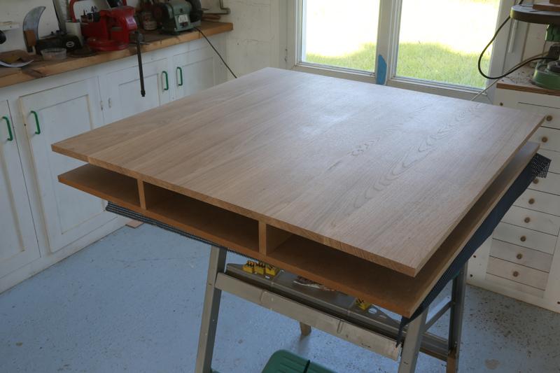 "[Fabrication] Table de salon ""hexaèdres""... - Page 2 24_mai22"