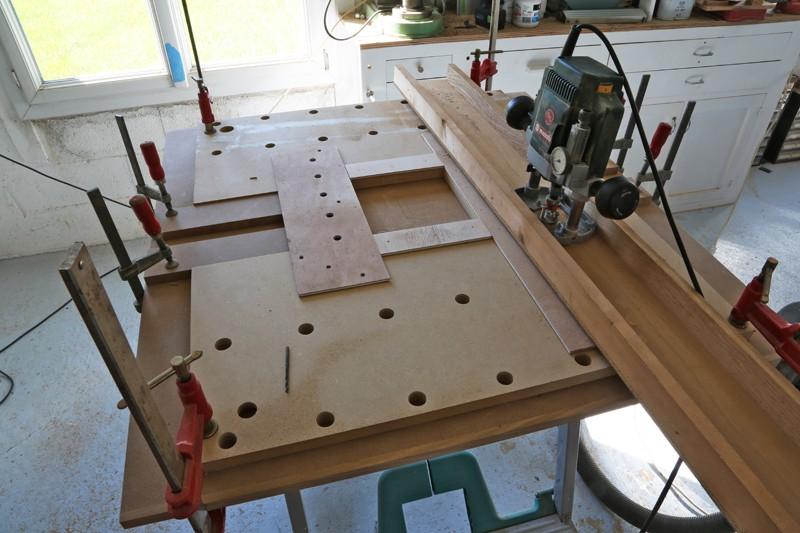 "[Fabrication] Table de salon ""hexaèdres""... - Page 2 26_mai13"