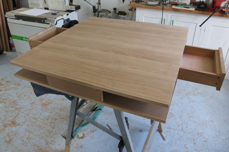 "[Fabrication] Table de salon ""hexaèdres""... - Page 2 26_mai21"