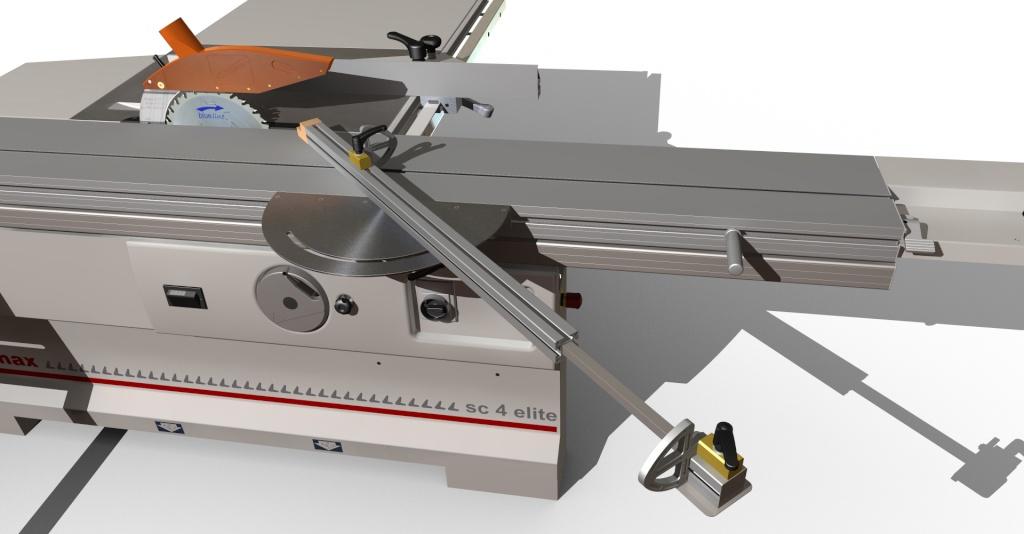 [Fabrication] Guide de coupe angulaire pour scie à format. Assemb44