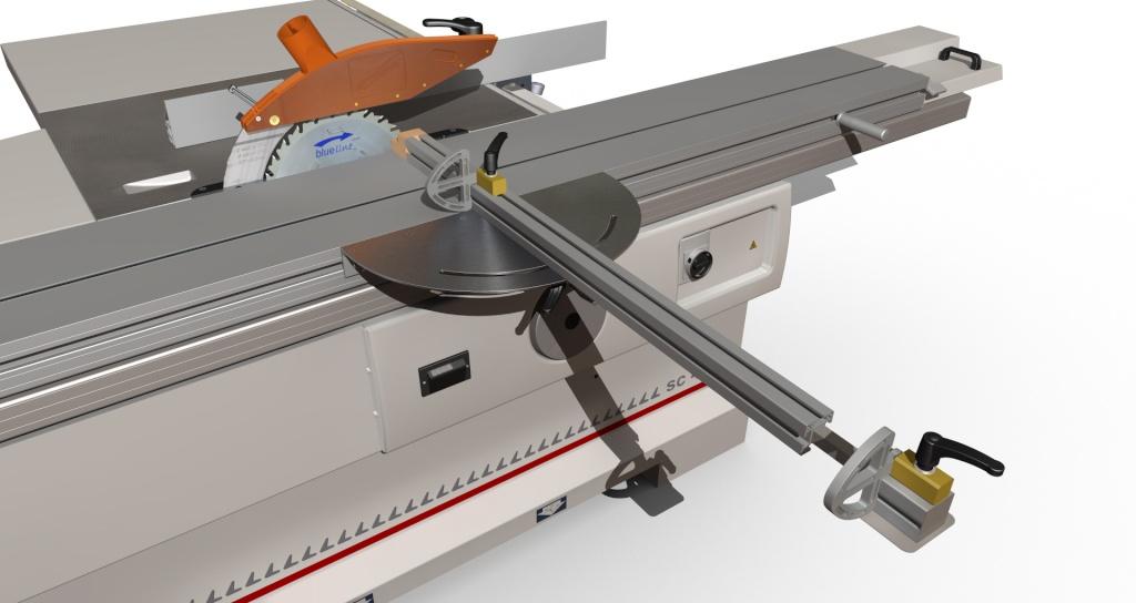 [Fabrication] Guide de coupe angulaire pour scie à format. Assemb45