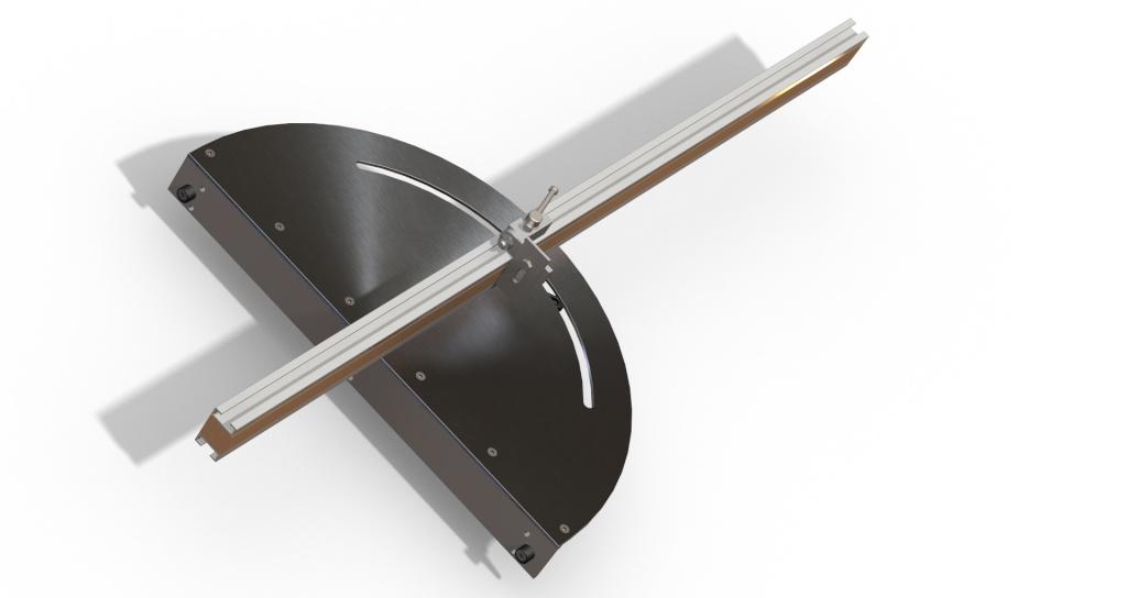 [Fabrication] Guide de coupe angulaire pour scie à format. Assemb46
