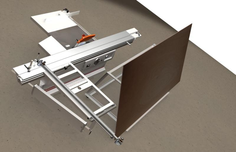 Table d'atelier basculante.  Chario14