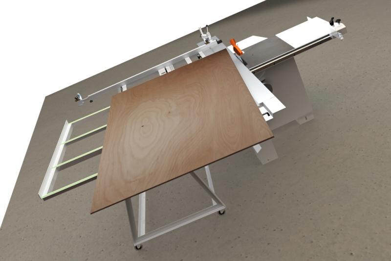 Table d'atelier basculante.  Chario17