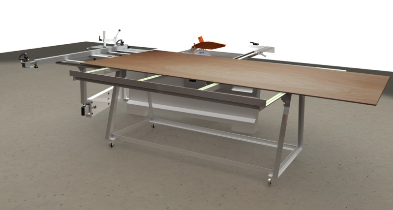Table d'atelier basculante.  Chario18