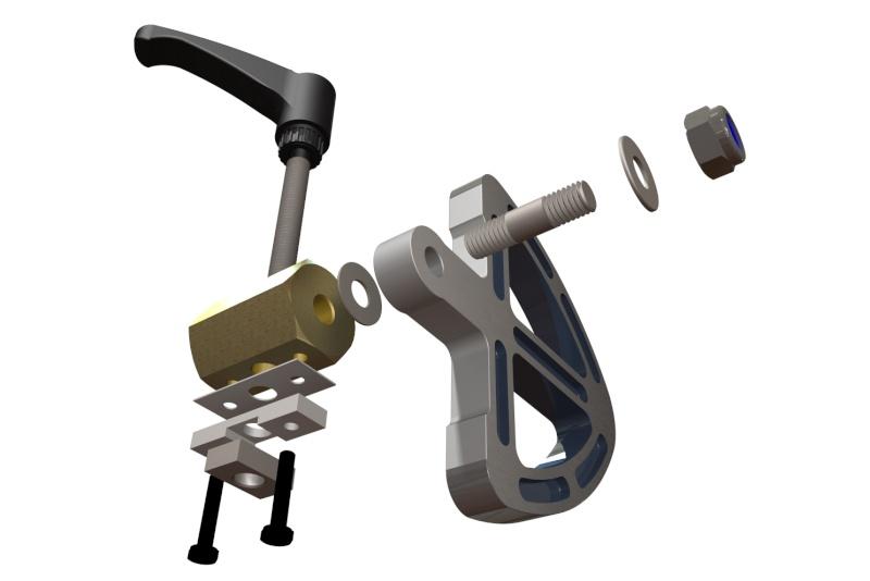 [Fabrication] Guide de coupe angulaire pour scie à format. - Page 2 Eclata12