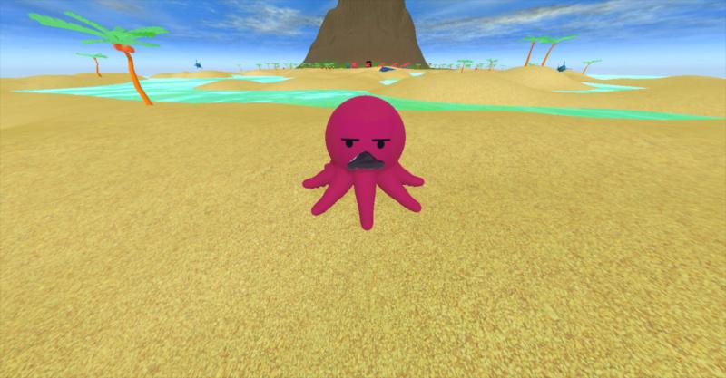 Octopushy : Jeu de plateforme 3d S210