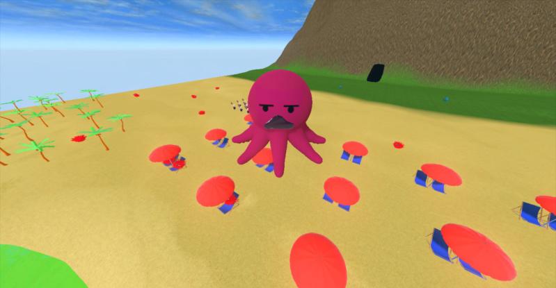 Octopushy : Jeu de plateforme 3d S310