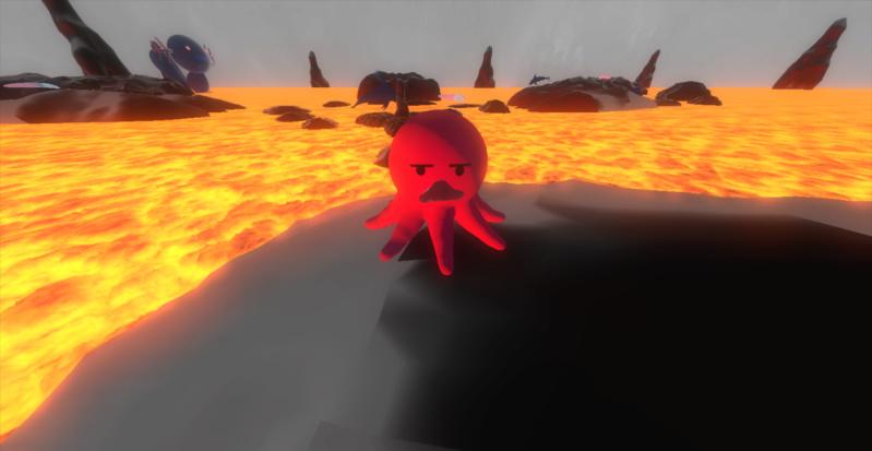 Octopushy : Jeu de plateforme 3d S410