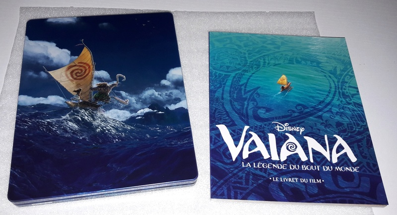 [BD 3D + BD + DVD + STEELBOOK] Vaiana, la Légende du Bout du Monde (2017) - Page 4 20170413