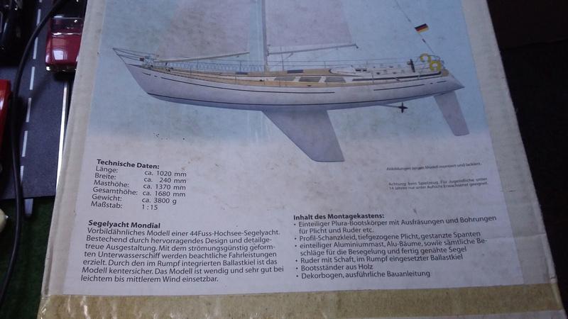 """Segelyacht """"Shogun II"""" S-l16014"""