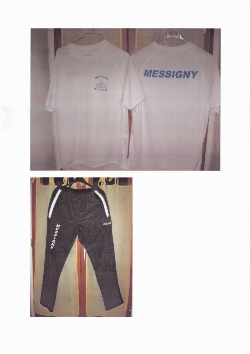 Pour commander le survêtement, tee-shirt du club 1235cn26