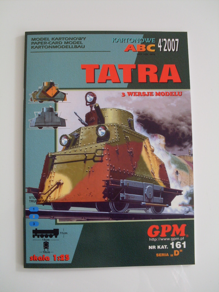 Panzerdraisine Tatra  GPM 1:25 Sdc13810