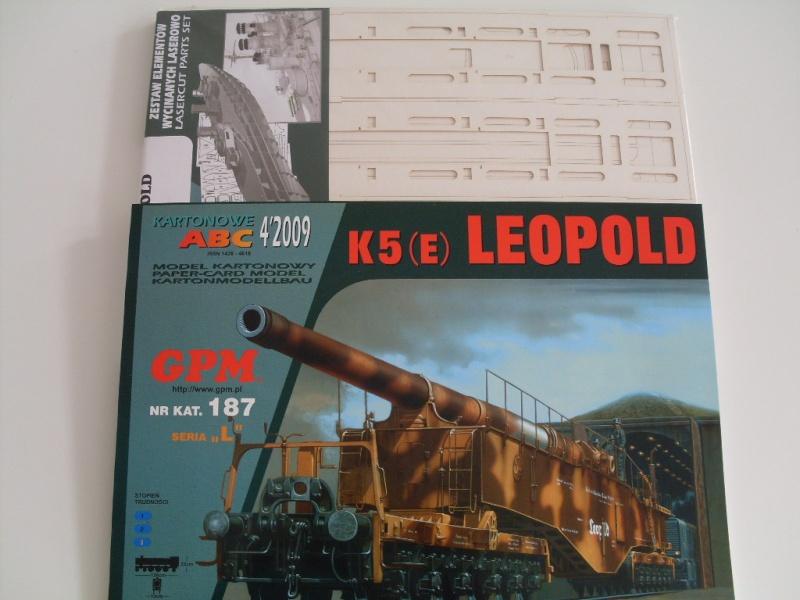 Eisenbahngeschütz K5 (E) Leopold  GPM 1:25 Sdc13838