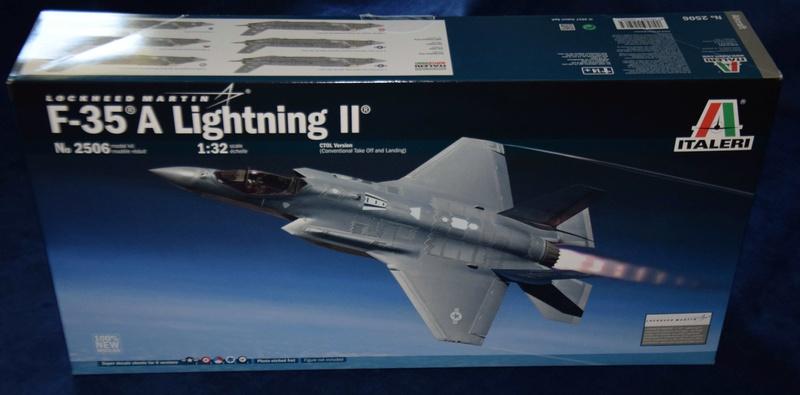 Lockheed-Martin F-35A Lightning II ; Italeri 1/32 114