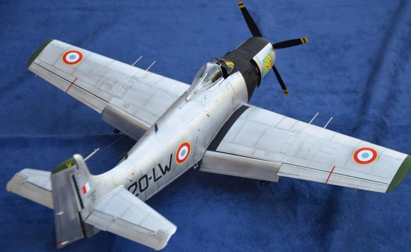 Douglas AD4 Skyraider Trompette 1/32 210