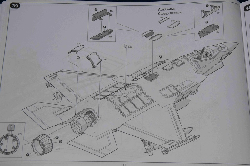 Lockheed-Martin F-35A Lightning II ; Italeri 1/32 2210