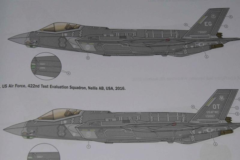 Lockheed-Martin F-35A Lightning II ; Italeri 1/32 2410