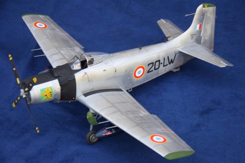 Douglas AD4 Skyraider Trompette 1/32 410