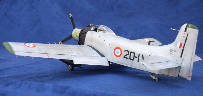 Douglas AD4 Skyraider Trompette 1/32 510