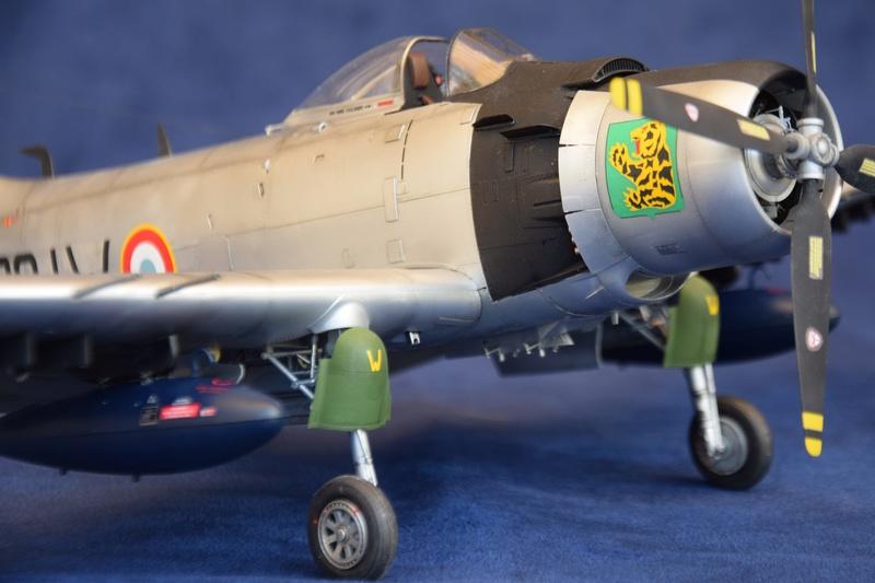 Douglas AD4 Skyraider Trompette 1/32 910