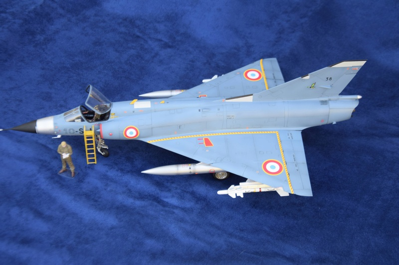 Mirage IIIC Italeri 1/32 Dsc_0177