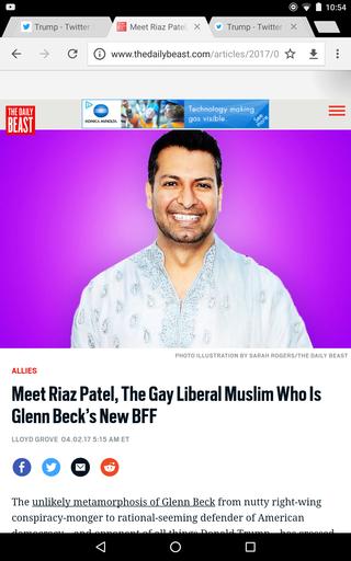 The Gay Liberal Muslim Who Is Glenn Beck's New BFF Screen21