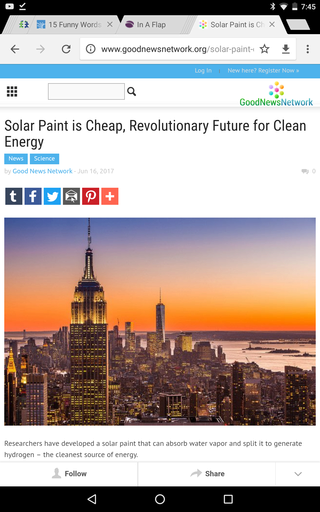 Solar Paint is Cheap, Revolutionary Future for Clean Energy Screen55