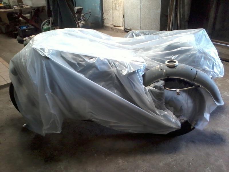 Restauration d'un DNIEPR 750 (BMW R71) - Page 2 Photo025