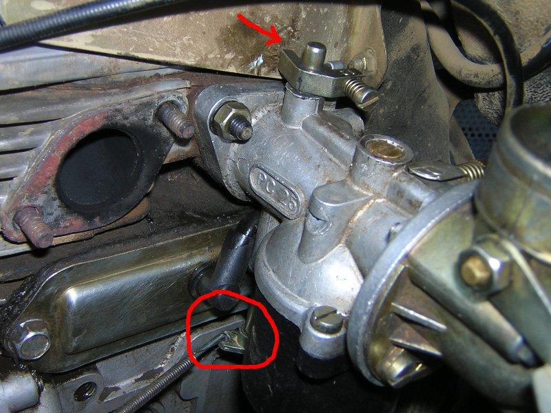 motore cotiemme CA340 vuoti in accelerazione Dscn3625