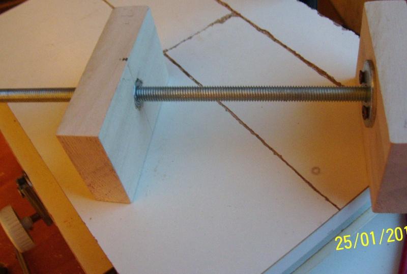 Tavolo a croce autocostruito per trapano a colonna 2010