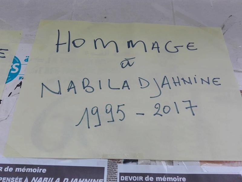 Hommage à Nabila Djahnine Aokas 15 février 2017 1125