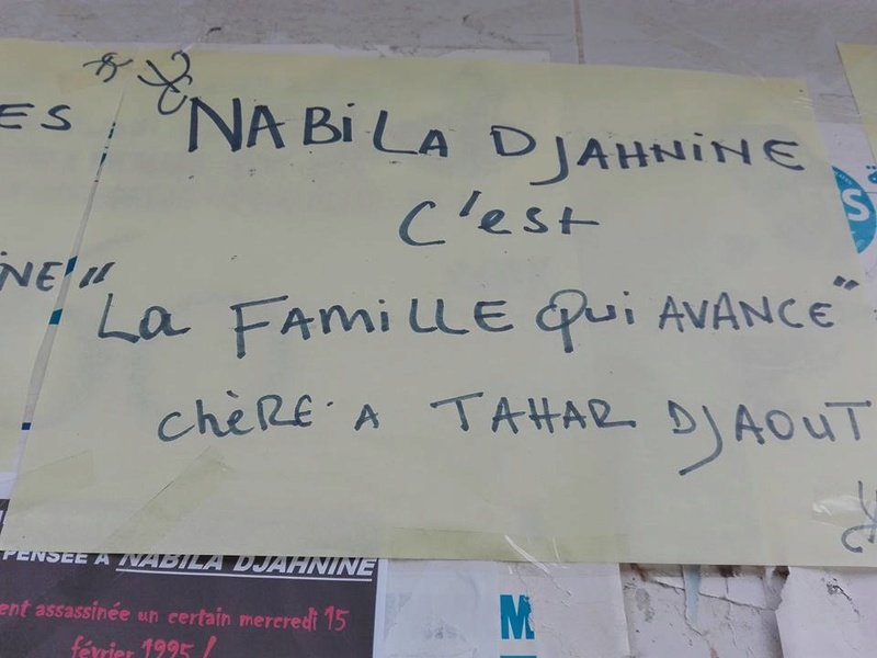 Hommage à Nabila Djahnine Aokas 15 février 2017 1126