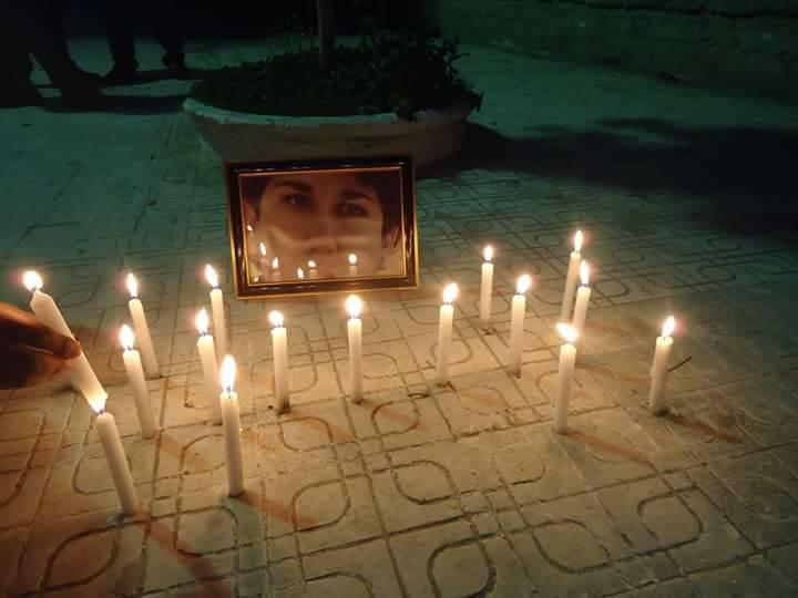 Allumage de bougies à la mémoire de Nabila Djahnine à Aokas le 15 février 2017 129