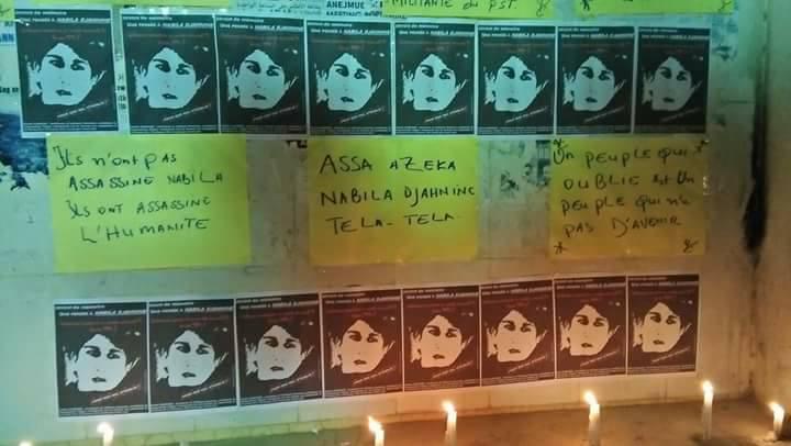 Allumage de bougies à la mémoire de Nabila Djahnine à Aokas le 15 février 2017 130