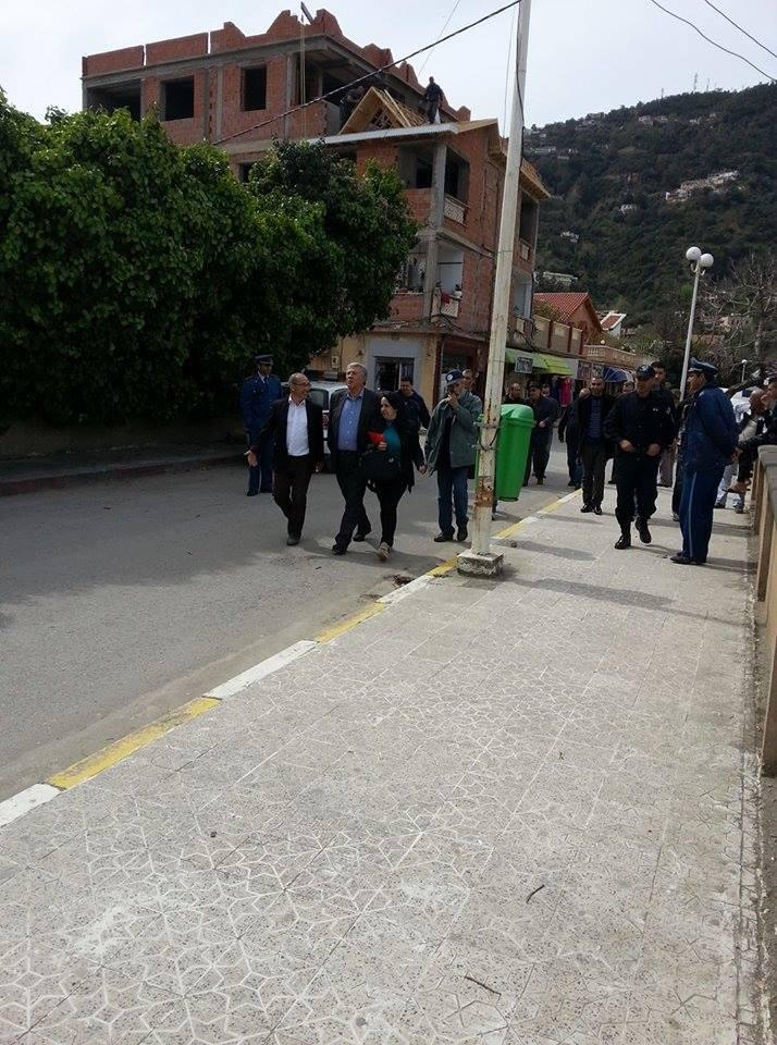 """""""visite d'état officielle"""" de Younes Adli à Aokas le 04 mars 2017 1401"""