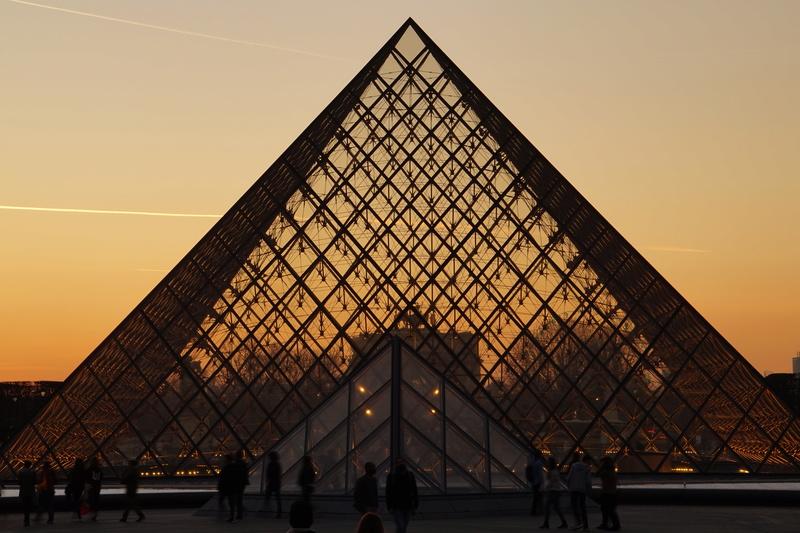 Pyramide du Louvres. Dsc01711