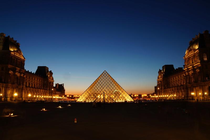 Pyramide du Louvres. Dsc01810