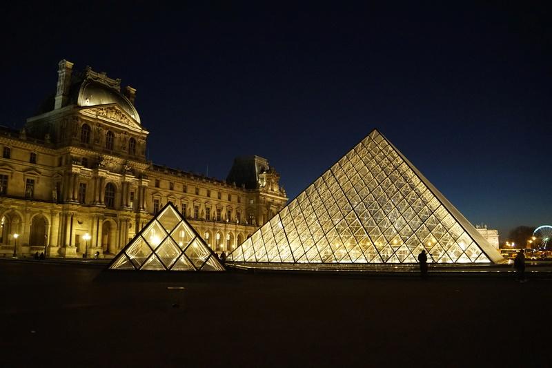 Pyramide du Louvres. Dsc01811
