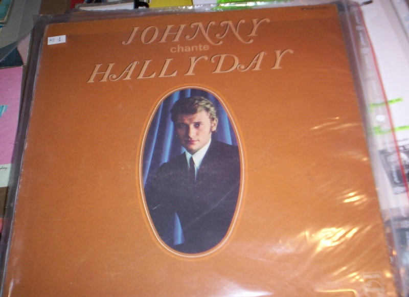 Johnny chante Hallyday LP Carton11