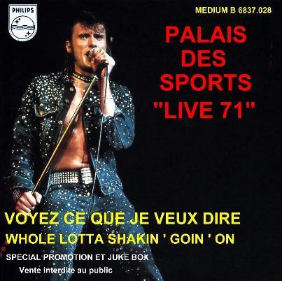 Rock'n'roll man SP Palais22