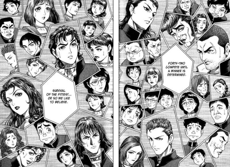 BATTLE ROYALE (Tome 1) de Koushun Takami et Masayuki Taguchi 3910