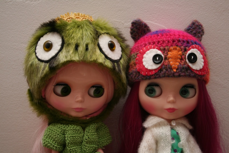 Après Lilly, voici Rose et Maggy mes nouvelles custo Img_8610