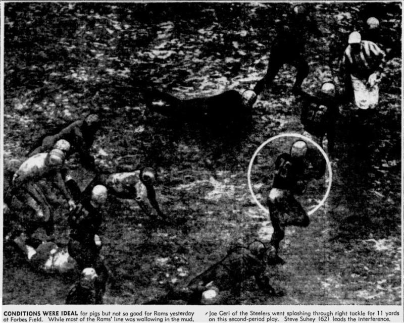 Mud games. 1949_110