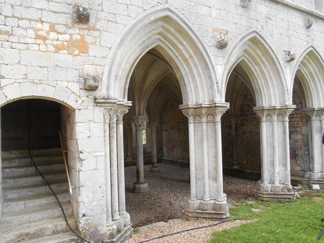 Week end à l'Abbaye de la Fontaine Guérard Dscn5115