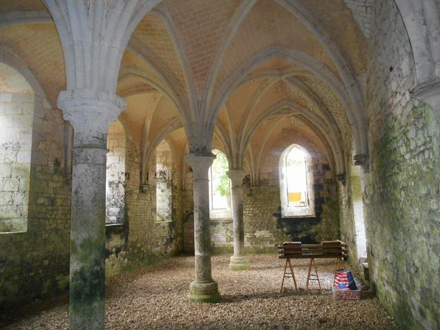 Week end à l'Abbaye de la Fontaine Guérard Dscn5116